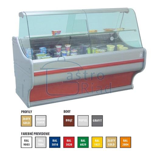 Zobraziť tovar: Vitrína chladiaca 300 l, WCh-1/B/1200