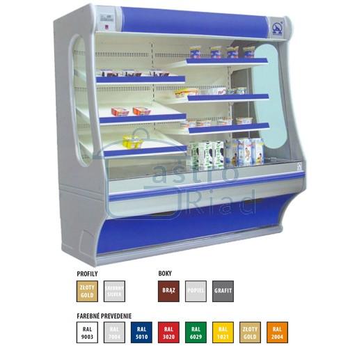Zobraziť tovar: Regál chladiaci 1500, Rch-1/B