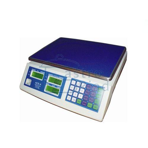 Zobraziť tovar: Váha stolová, digital., ACS-6/15A