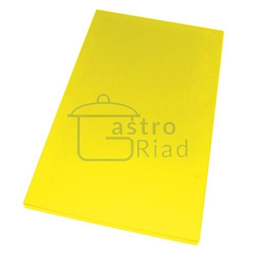 Zobraziť tovar: Doska plastová žltá 600x400