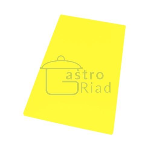 Zobraziť tovar: Doska plastová žltá 500x300