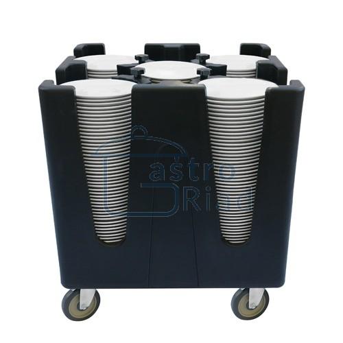 Zobraziť tovar: Vozík na taniere, plastový, TAS-2429