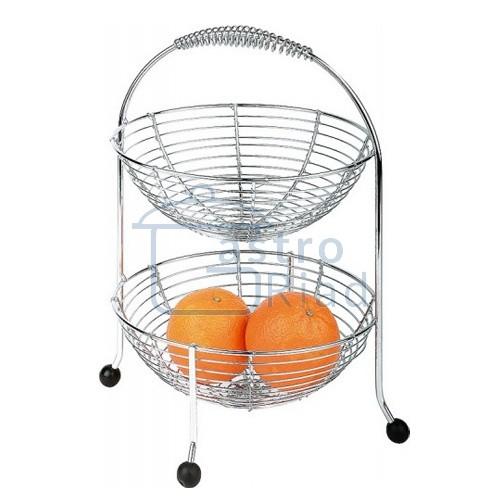 Zobraziť tovar: Stojan na ovocie 2 poschodový