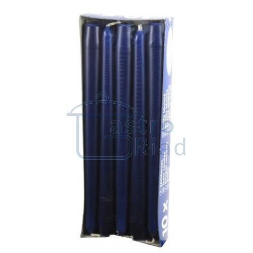 Zobraziť tovar: Sviečky tm.modré - 10ks