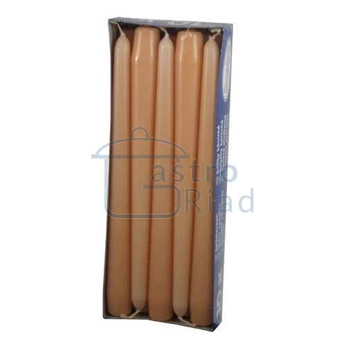 Zobraziť tovar: Sviečky apricot - 10ks