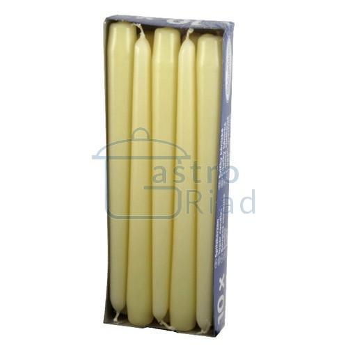 Zobraziť tovar: Sviečky bežové - 10ks