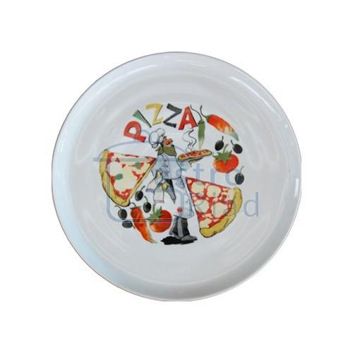 Zobraziť tovar: Tanier pizza 30 dekorovaný