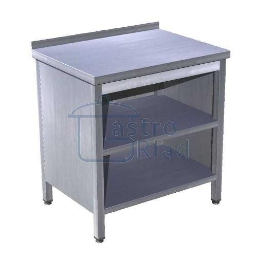 Zobraziť tovar: Stôl pracovný krytovaný s 2 policami 1800x700, PSJ-3