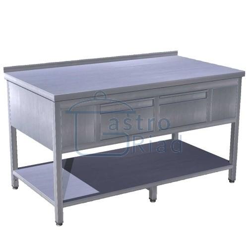 Zobraziť tovar: Stôl pracovný so zásuvkami 1400x700, PSZS-2