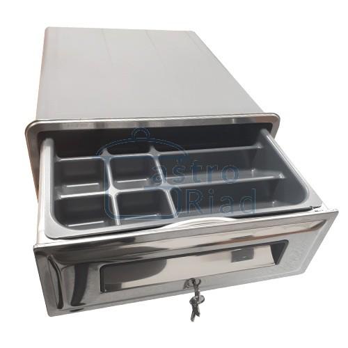 Zobraziť tovar: Zásuvka pokladničná so zámkom Ronda, AP-2812