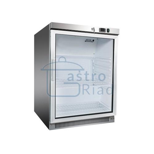 Zobraziť tovar: Chladnička nerezová presklená statická 130 l, DR-200GS /870