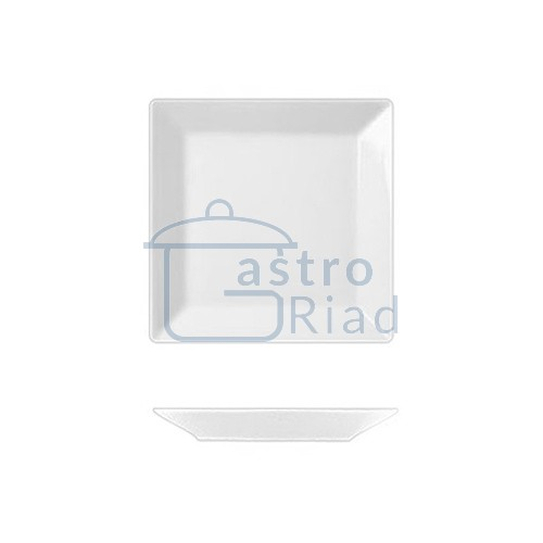 Zobraziť tovar: Tanier štvorhranný 13x13 cm, ACTUAL